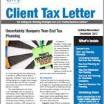 BSLR Client Tax Newsletter cover
