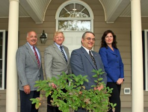 The Firm of BSLR - Shareholders in front of Bel Air, MD office