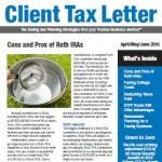 2016 Q2 Client Tax Letter
